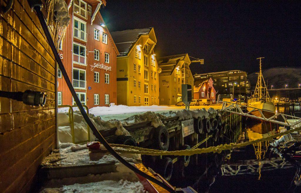 3. Platz: Helga Busse - Hafen von Tromsø